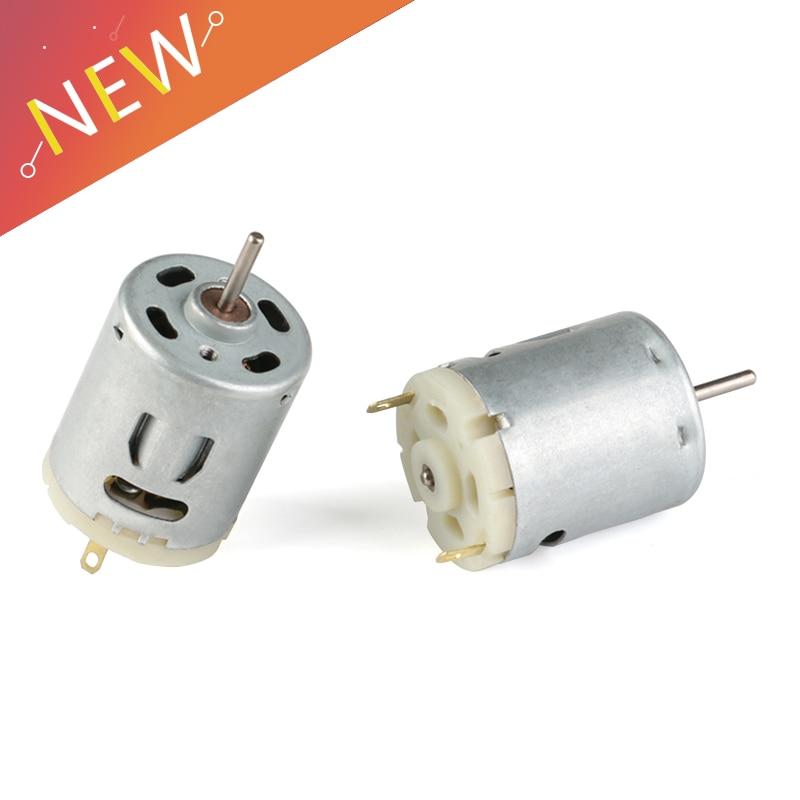 High Speed 365 Motor Low Noise DC 12V 10000RPM Motor blower / Hot air gun / Small electric drill motor Handmade DIY Large Torque