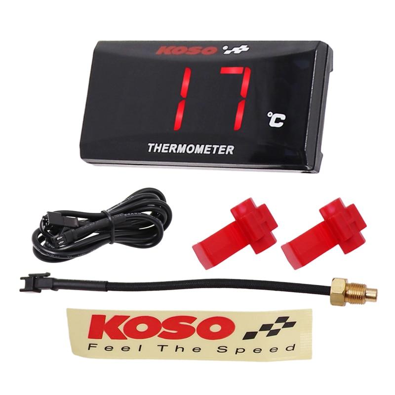 Medidor de temperatura Digital para motocicleta, medidor de temperatura del agua para Yamaha XMAX250, nmax YBR125