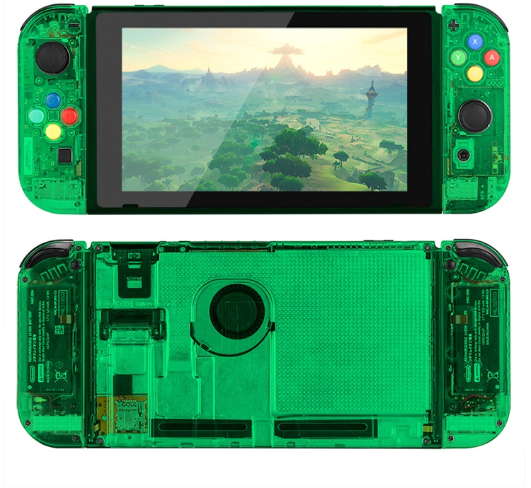 for nintendo ds console plastic replacement housing shell cover DIY Clear Shell Case For Nintend Switch Console Replacement Housing Shell Cover for Nintendo Switch Joycons Console Case