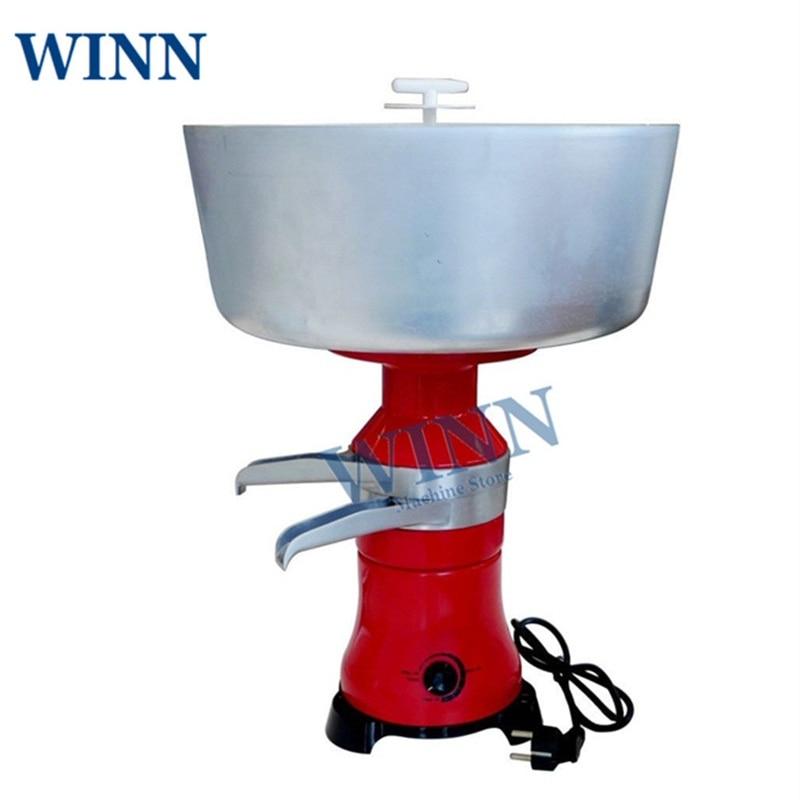 Электрический сепаратор для молока и крема, машина для скимминга свежего молока на фабрике, сепаратор крема 80л/ч, очиститель сливок