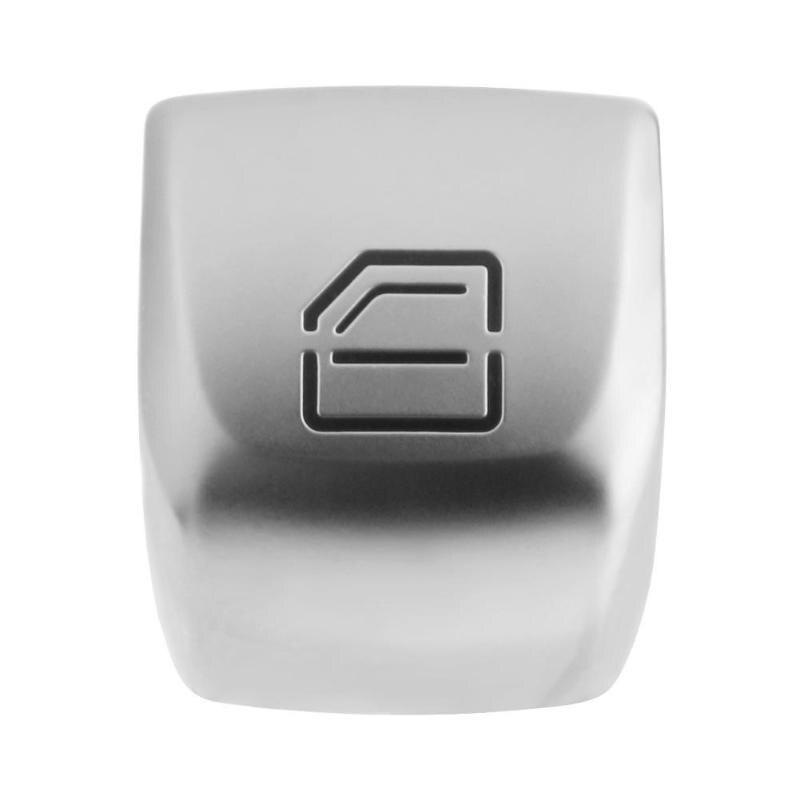 Автомобильный переключатель VODOOL, кнопка для ремонта, крышка для двери автомобиля, стекло, переключатель управления, ключ, крышка для Mercedes Benz C Class W205 E Class
