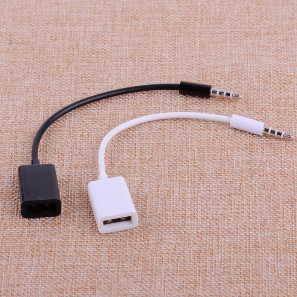 CITALL Автомобильный MP3 3,5 мм штекер для наушников AUX аудио разъем для USB 2,0 Женский Кабель конвертера