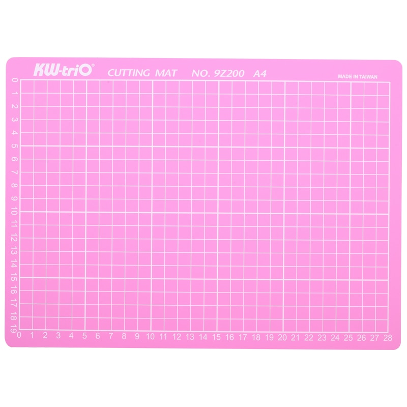 PVC A4 Pink Cutting Mat Pad Patchwork Cut Double-Sided Self-Healing Craft Board DIY Tools