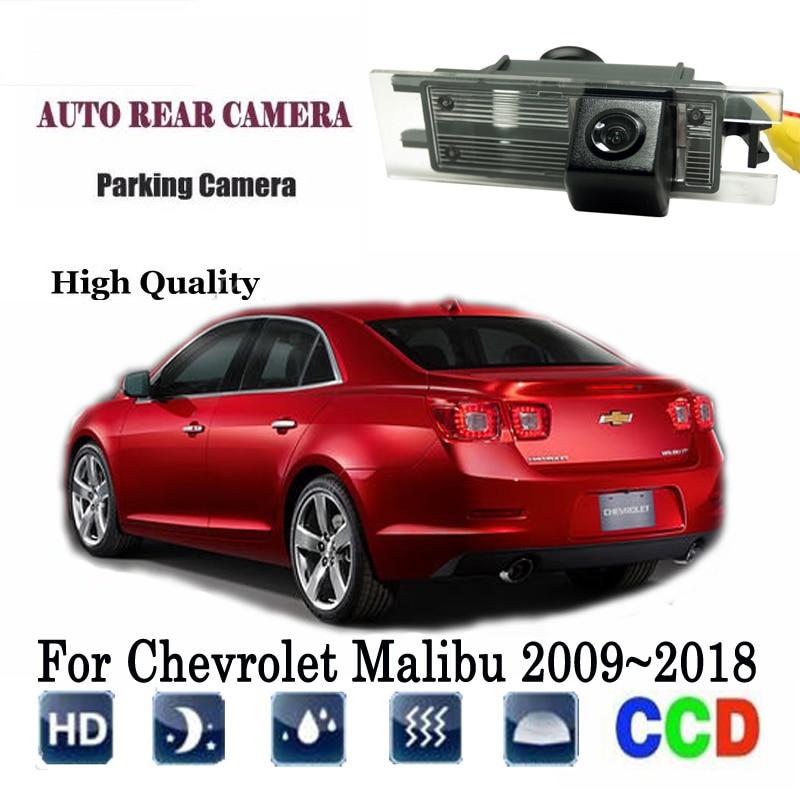 Rear View Camera For Chevrolet Malibu 2009~2018 2012 2013 2015 2016 backup Camera/CCD Night Vision/Reverse License Plate camera