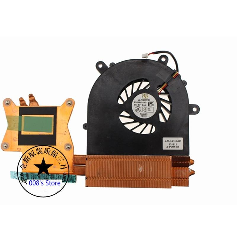 Новый кулер, вентилятор, радиатор для Clevo P170HM P170SM P151SM P150SM X511 X611 X711 X811 6-31-P15SN-102 6-23-AX510-012 AX510
