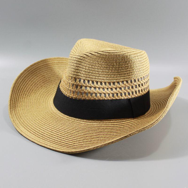 AliExpress - Male large size panama hats big head man foldable cowboy fedora cap men plus size straw hat 58CM 60CM 62CM