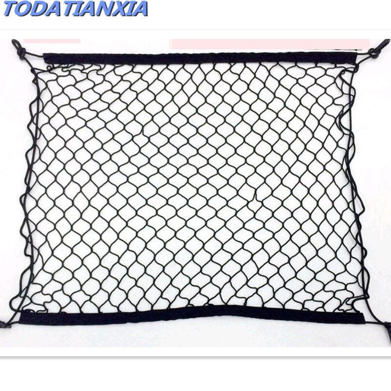 2021 Car Trunk Luggage Storage Nets Accessories FOR skoda octavia a5 solaris hyundai citroen c4 kia rio toyota volkswagen polo