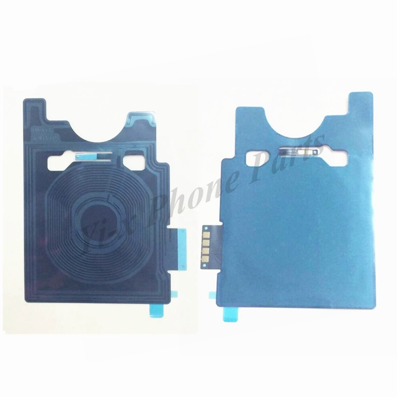 10 unids/lote nuevo cargador inalámbrico pegatina NFC para cable flexible LG G6