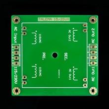 Kwadratowy niebieski powłoki spawane pierścień uszczelniający transformator 15VA 25VA naprawiono dolny płyta podstawowa płytka drukowana 2.0mm FR4 zanurzenie złota ENIG PCB