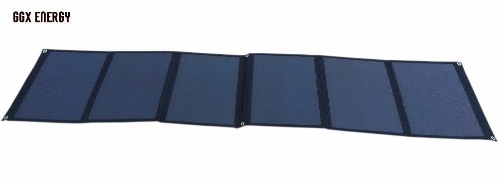 Bolsa de Pano Solar para o Portátil Bateria de Energia Portátil para Campista 120watt de Energia Carregador Sunpower Dobrar Painel – 12 v rv 4wd Tourer Ggx