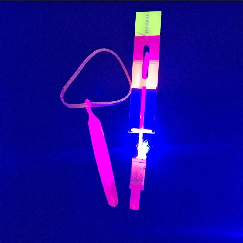 Glow party suplies regalo para chico s luz LED Up brillo de libélula intermitente para juguetes de fiesta gran oferta regalo para chico 100 unids/lote