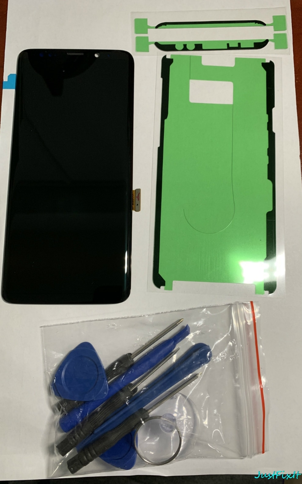 Defecto para Samsung Galaxy S9 G960 G960F G960U pantalla Lcd con digitalizador de pantalla táctil Super AMOLED