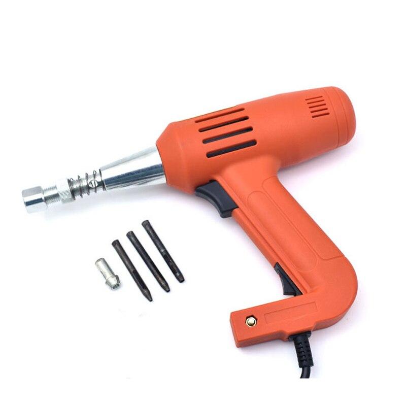 Электрический инструмент для ушей, сумка для обуви, электрический инструмент для сверления одежды, кожаный ремешок, перфорационный инструм...
