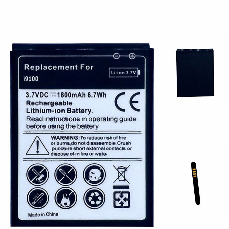 EB-F1A2GBU Replacment Bateria Akkumulator für Samsung Galaxy S2 i9100 i9108 i9103 I777 i9105 i9100G GT-i9100 B9062 i847 Batterie
