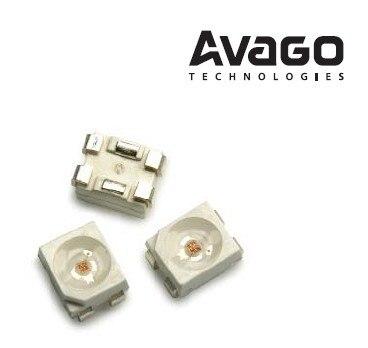 ASMT-QHB2-FEF0E AVAGO Avago 0,5 W 3528 rojo de seis pies superbrillante
