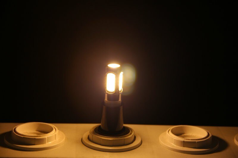 50pcs/lot 360 Degree COB High Power AC220V 600lm 110v E14 LED Corn Bulb 7.5W Candle Lamp Shape For Indoor enlarge
