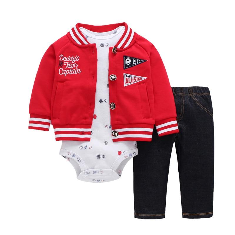 baby boy girls clothes set bodys bebes cotton hooded cardigan+trousers+body 3piece set newborn clothing ropa bebe recien nacido
