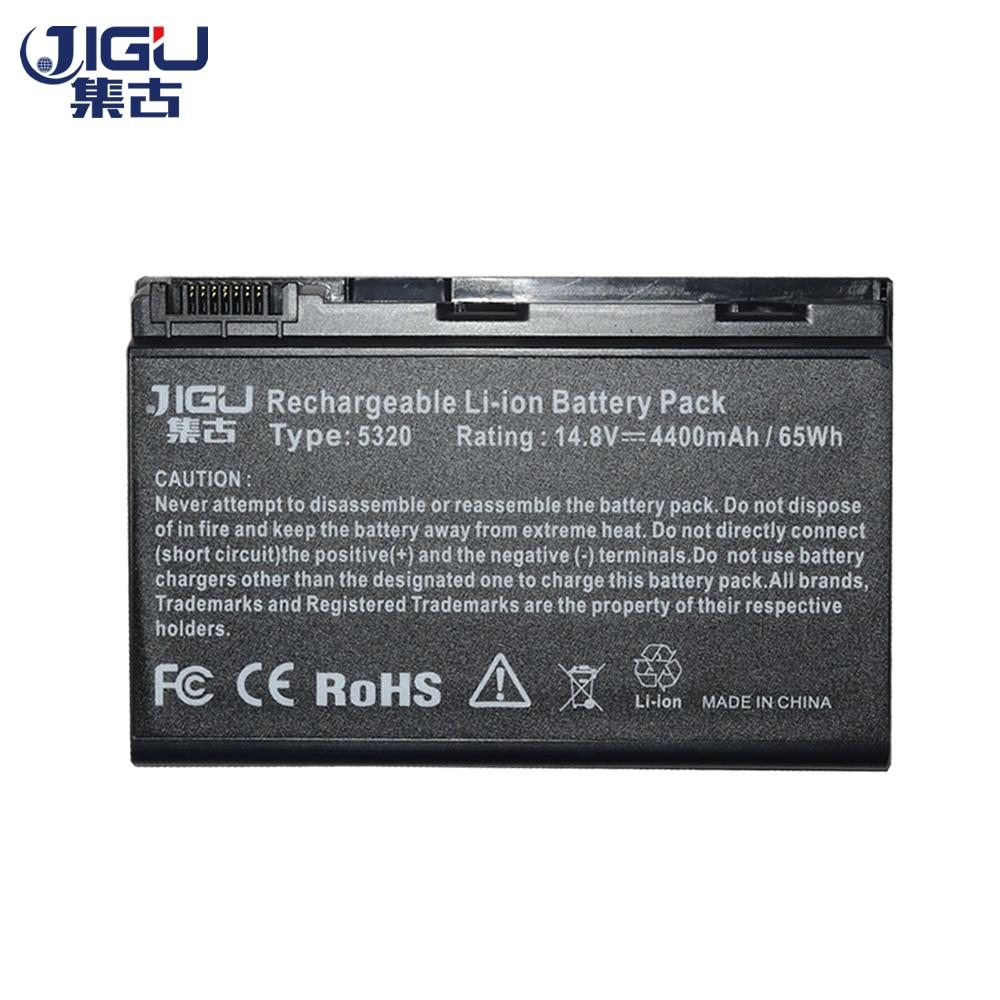 JIGU nuevo 8 celdas de batería del ordenador portátil LC? BTP00.006 para Acer Extensa 5210, 5220, 5230, 5420, 5420G 5610G 5620 5620Z 5630 de 5630G 7220G 7620, 7620G