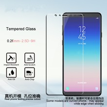For Samsung Galaxy A9 Star Lite Tempered Glass Screen Protector For Samsung Galaxy A8 Star Premium G