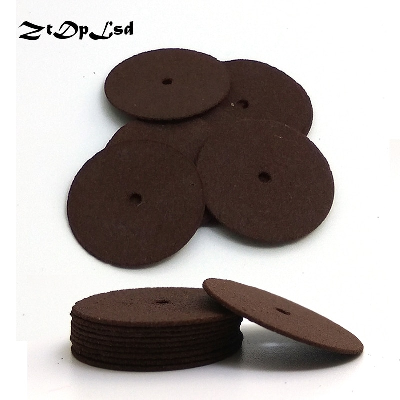 10 pezzi 24 / 38mm dischi abrasivi da taglio mole da taglio rinforzate disco a lama rotante, accessori Dremel