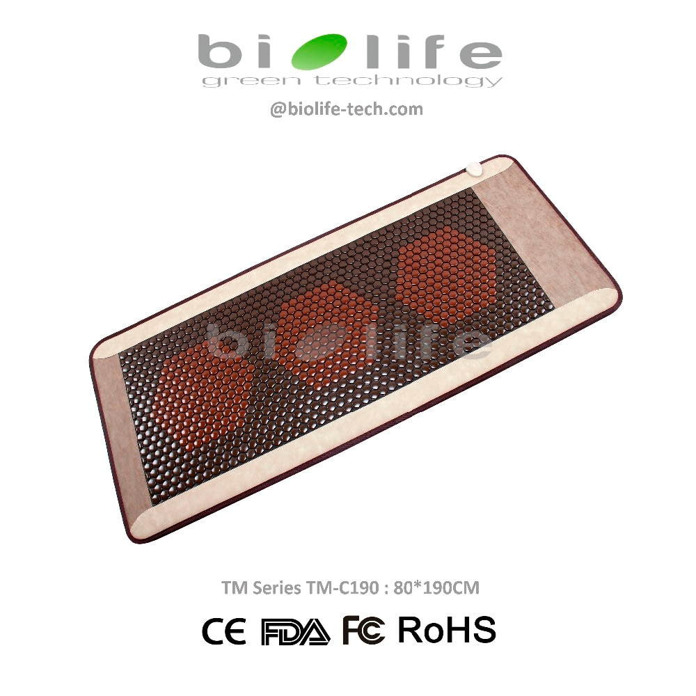 Ceratonic سرير تدليك بالأشعة تحت الحمراء ceragem مماثلة العلاج الحراري كوريا حجر سيراميك الصحة التورمالين فراش