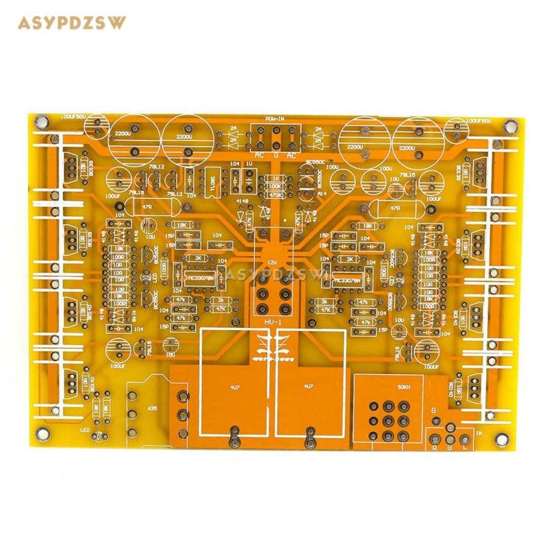 HV1 (база на Beyerdynamic A1), усилитель мощности для наушников, DIY голый PCB, HV-1