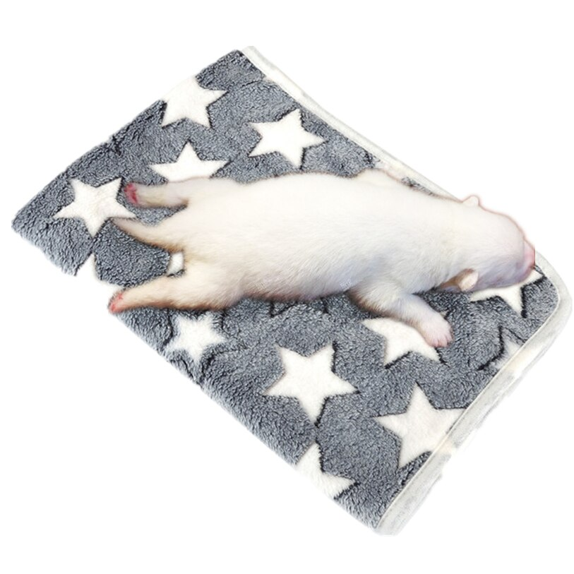 6Size Pet Blanket Dog Cat Bed Mat Sleeping Mattress Small Medium Dogs Cats Air Condition Cushion Cover Towel Pet Supplies 40JA8