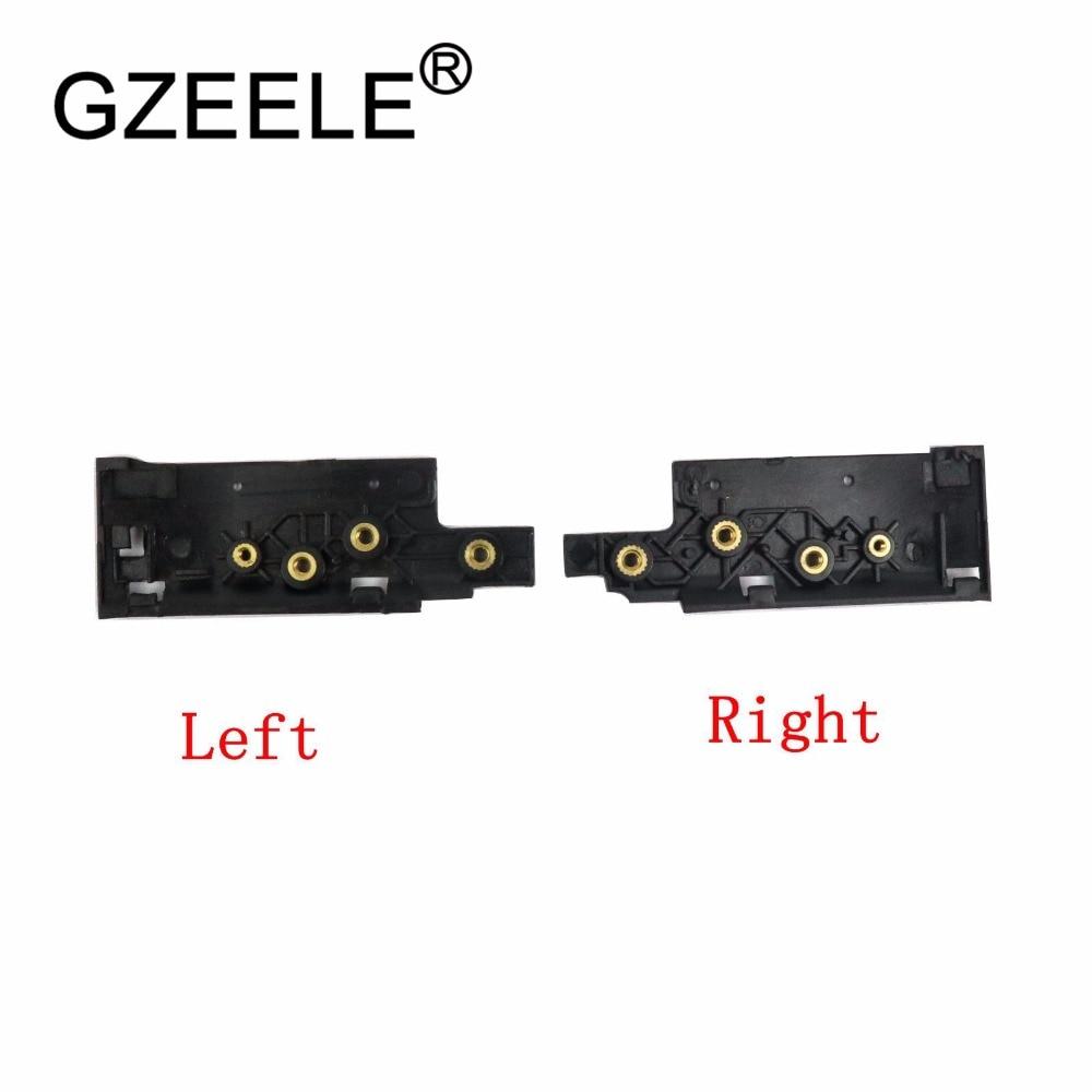 Nuevo soporte de bisagras LCD para portátil GZEELE para Lenovo IdeaPad U530 Touch U530T para la cubierta posterior de la pantalla táctil, bisagras de soporte para eje de bisagras