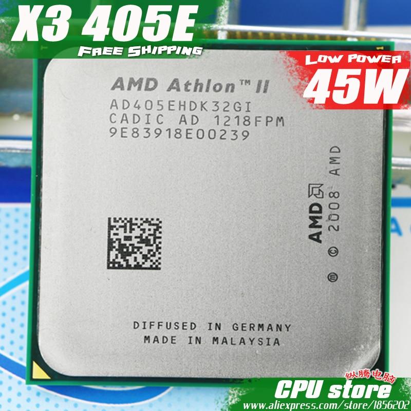 AMD Athlon II X3 405E procesador de CPU Quad-CORE (2,3 Ghz/ L2 2M /45W / 2000GHz) am3 am2 + envío gratis 938 pin vender X3 400e