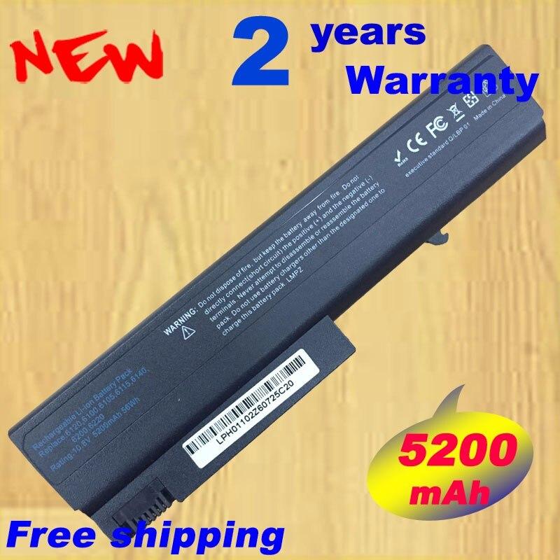 6 cell батарея для HP Compaq 6510b 6910p 6710b NC6120 NC6230 NC6220 NC6400