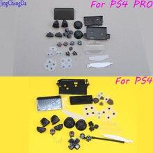 JCD L1 R1 L2 R2 ABXY gatillo con d-pad círculo cuadrado triángulo X botón set para ps4 pro/silm controlador