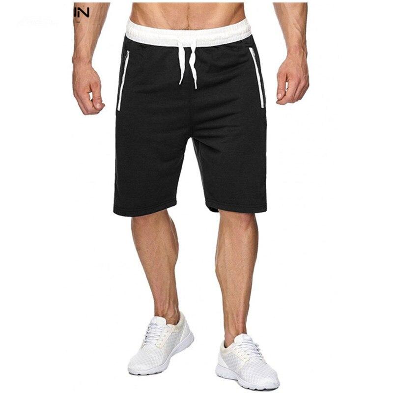 Los nuevos pantalones cortos casuales de verano para Hombre Pantalones cortos de Fitness de moda para hombre talla grande 3XL pantalones de chándal ropa corta Homme
