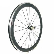 Roue en carbone largeur 23 MM profondeur 38 MM 50 MM 60 MM 90 MM pneu alliage frein bord carbone roues route vélo roues