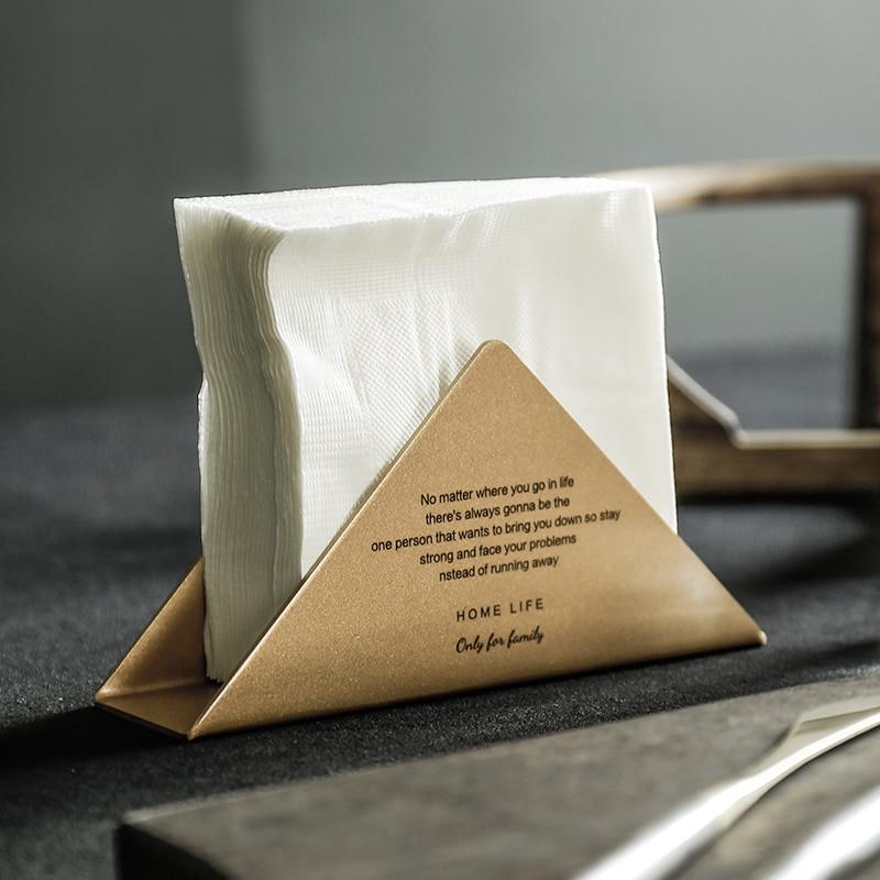 Nordic ouro fosco metal cesta de armazenamento ferro café loja guardanapo titular do cartão visita organizador de armazenamento de mesa para o hotel escritório