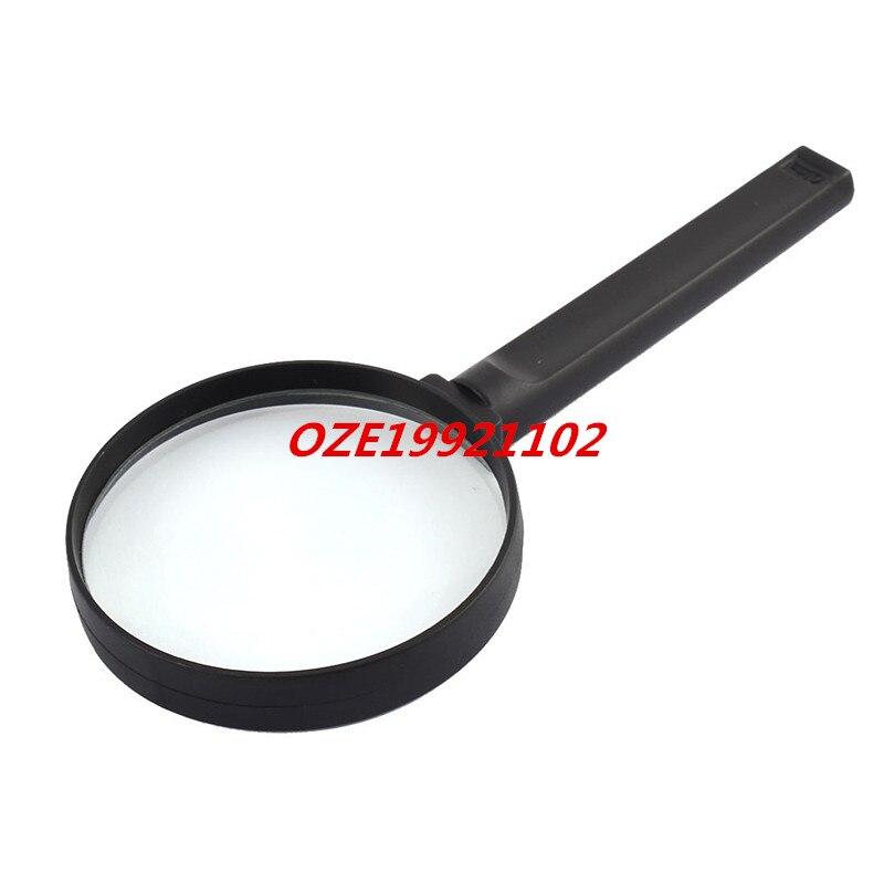 1pcs Plastic Nonslip Grip  Lens Handheld Magnifying Glass Magnifier