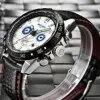 BOYZHE – montre mécanique automatique en cuir pour homme horloge militaire étanche de sport livraison directe