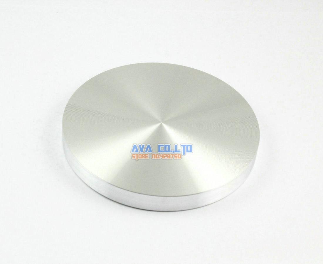 2 قطعة الألومنيوم 90*10 * M10 القرص الزجاج الجدول الأعلى محول ، اكسسوارات الديكور الدائري