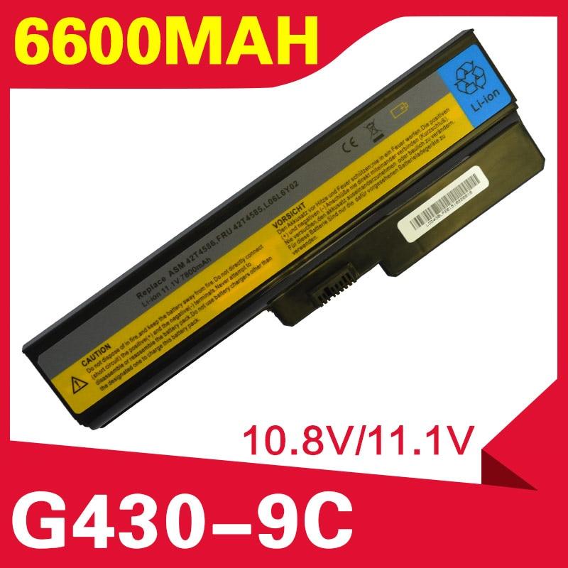 6600mAh بطارية لينوفو B460 B550 G430 G430A G430L G430M G450 G450 G450A G450M G455 G530 G530A G530M G550 G555 N500 B460