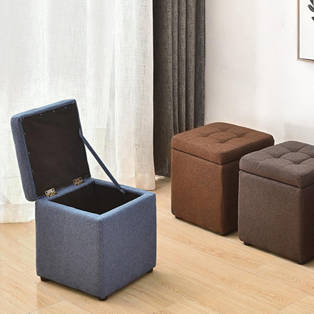 متعددة الأغراض مبتكرة صندوق تخزين أريكة البراز تخزين المنزل مكتب مقاعد لوازم البراز تخزين للملابس ShoeToy عنصر صغير