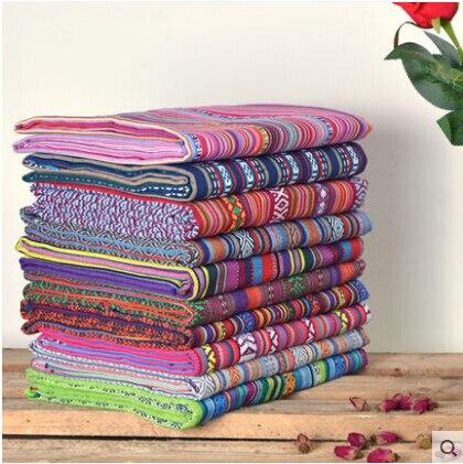 Ткани из хлопка и льна «сделай сам», текстиль для пеших прогулок, диванов, швейных поделок, тканевый мешок, ткань tissu