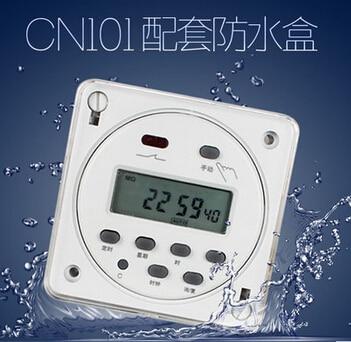 CN101A interruptor tempo temporizador DIGITAL PROGRAMÁVEL interruptor do temporizador oktimer DCtime 16A 24VDC marca