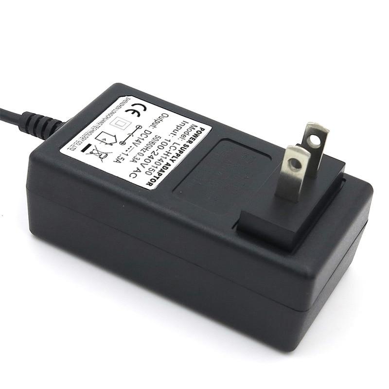 VORED-Adaptador de fuente de alimentación, enchufe de CC 14V 1,5 a de alta calidad para UE, EE. UU. Y Reino Unido, DC 5,5x2,1mm, baterías NiMH, envío gratis