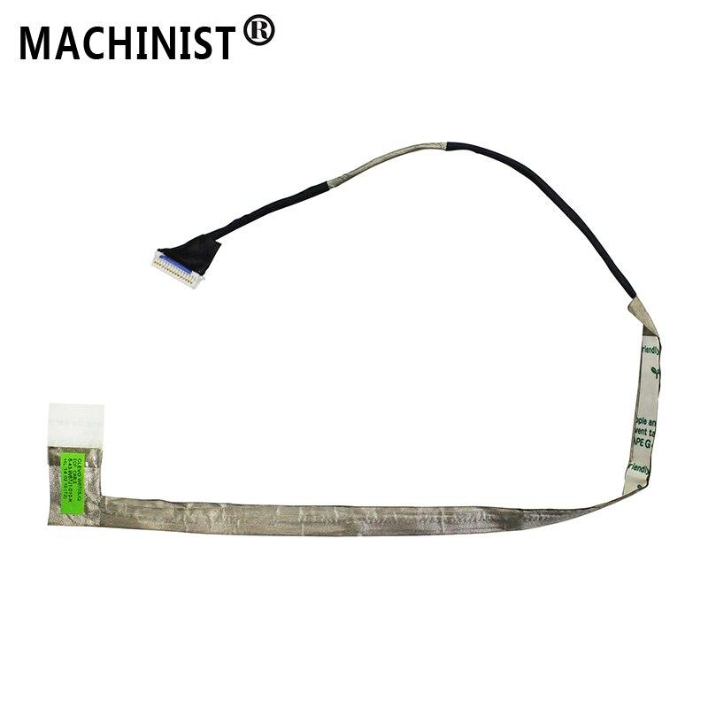 Maquinista pantalla de Video Flex para CLEVO W670SJQ W670 W670SC W670RC LCD portátil LED LVDS cinta de pantalla cable 6-43-W67J1-010-K