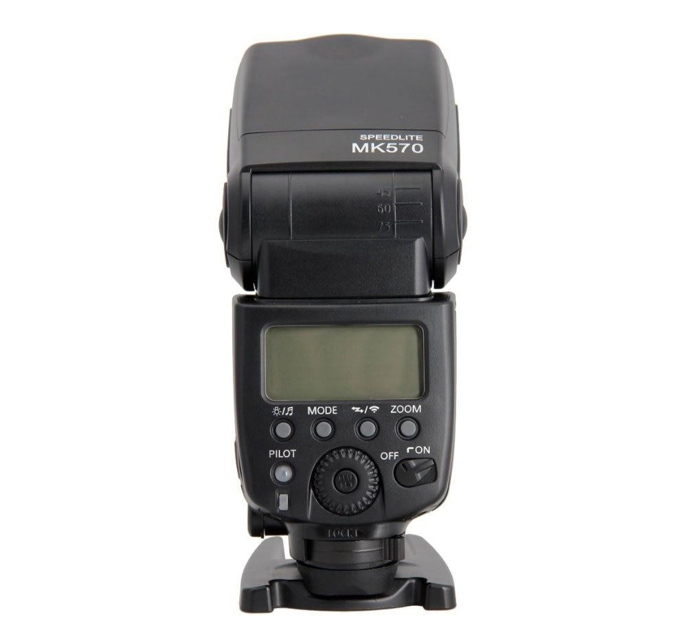 Беспроводная синхронизация MEKE Meike, Вспышка Speedlite для Nikon D7100, D7000, D5100, D5000, D3100, D3200, D300, D200, D4, D600, MK-570