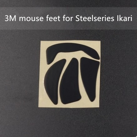 1 Juego de patines originales de 3M para mouse feet para steelseries pandaren y Ikari Teflon material