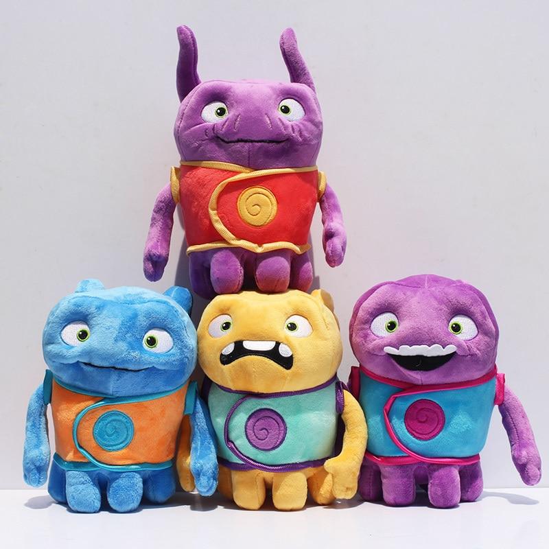Aliens Drive Me Crazy Toy Home OH Plush Toys Super Amazing Aliens Tip Mascot Captain Boov Stuffed Doll Plush