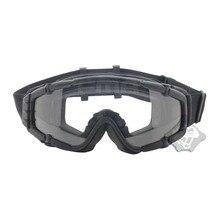 Version de ventilateur refroidisseur FMA lunettes de Paintball Airsoft extérieures noires-lunettes balistiques