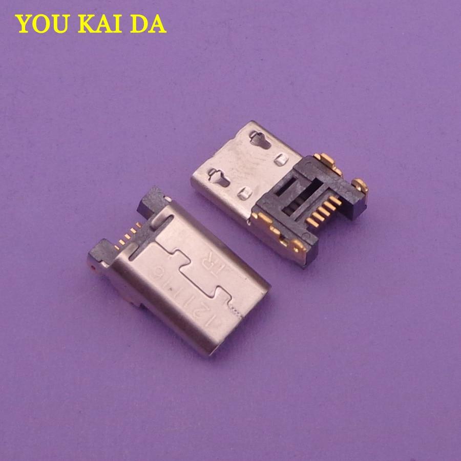 10 шт./лот, разъем Micro USB, 5pin, 5 p, разъем USB для Amazon Kindle Fire charge, зарядный порт, длинные запасные части корпуса