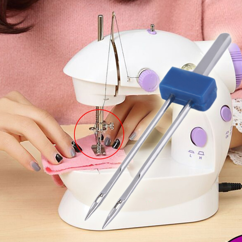 3pcs Double Twin Needle Pins Sewing Machine Accessories Size 2mm/3mm/4mm Needles Sewing Machine Tool
