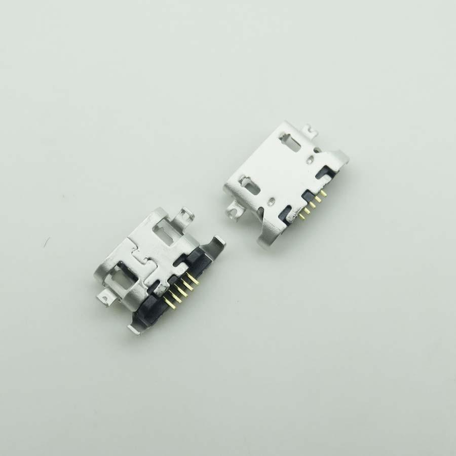 50 unids/lote para Lenovo A670T S650 S720 S820 S880 A830 A850 A800 S939 S658T de carga Micro Usb Dock Socket puerto de conector de carga